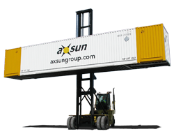 Axsun intermodal ctransportation ontainer