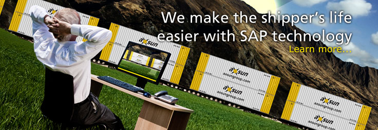 AXSUN transportation, logistics and warehousing makes the shipper's life easier with SAP technology. Learn more...